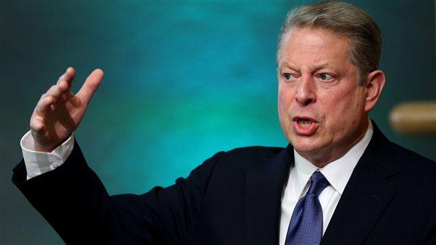L'ex-vice-président démocrate Al Gore (archive)
