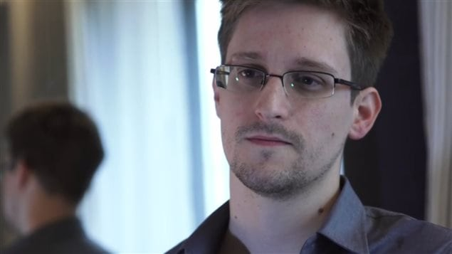 Edward Snowden, l'ancien technicien de la CIA qui a révélé l'existence d'un programme de surveillance hautement confidentiel au journal The Guardian