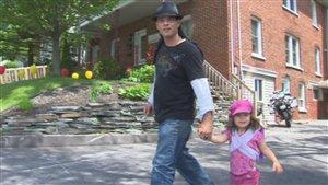 Stéphane Houle est l'un des bénéficiaires de la Maison Oxygène de Sherbrooke.