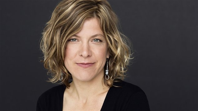 Karine Glorieux, lectrice pour le Prix du récit Radio-Canada 2013