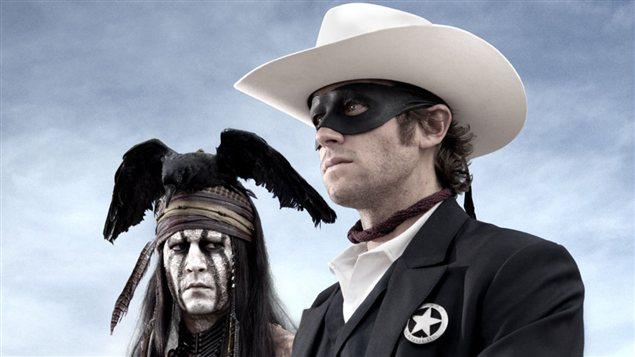 Johnny Depp et Armie Hammer dans « Le justicier masqué »