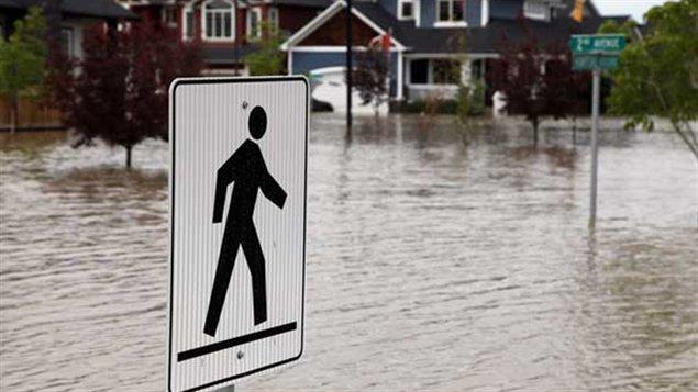 Inondations à High River, le 29 juin dernier