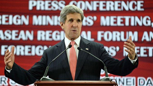 Le secrétaire d'État américain, John Kerry