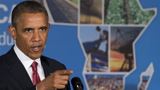 Le président barack Obama à Dar es Salaam en Tanzanie