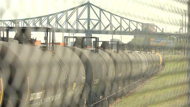 Train à Montréal