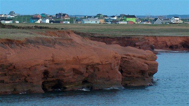 Le recul des falaises des îles de la Madeleine s'est accéléré.