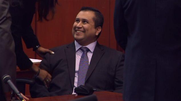George Zimmerman, soulagé