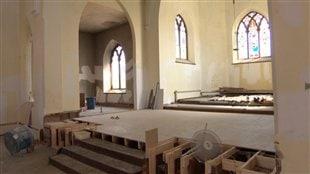 L'intérieur de l'édifice sera rénové.