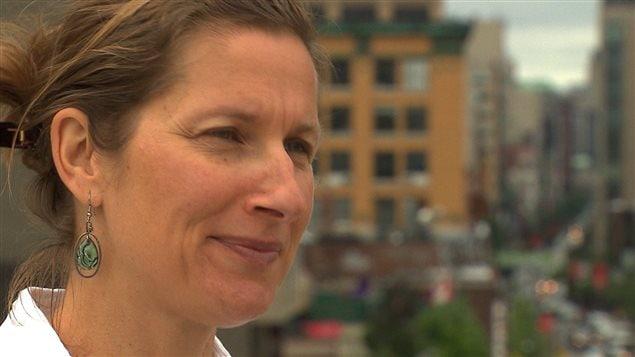 Coralie Denys, directrice générale du Conseil régional de l'environnement de Montréal