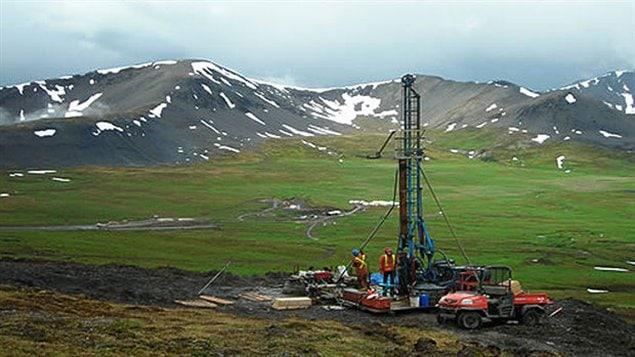 Exploration minière au Yukon
