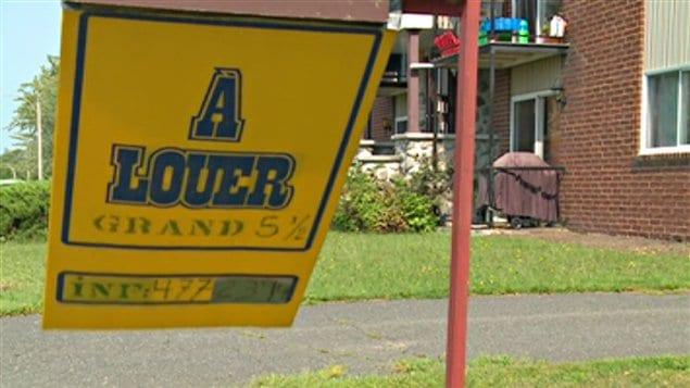 De nombreux logements sont toujours à louer à Drummondville.