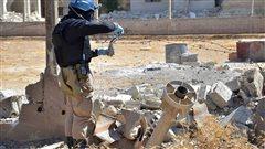 La Russie met en doute le rapport de l'ONUsur lesattaques chimiques enSyrie