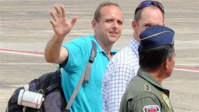Jernoc Wobert, l'otage canadien libéré par l'ELN mardi