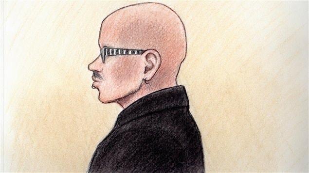 Patrick Dussault lors de sa comparution en cour, le 29 août 2013.