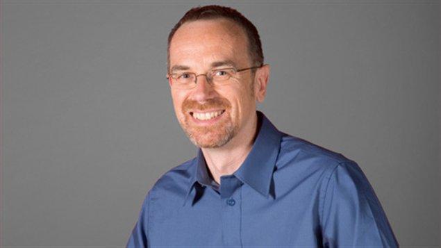 Guy Bertrand, chroniqueur et premier conseiller linguistique à la Radio et à la Télévision françaises de Radio-Canada