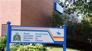 Les bureaux de la GRC à Moncton
