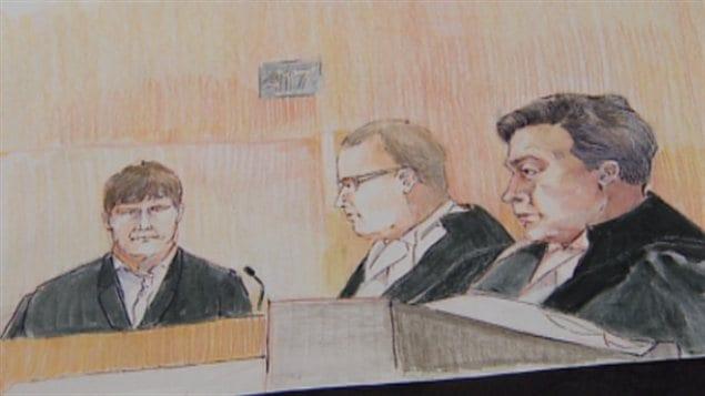 T. Baumgartner devant la cour, lundi 9 septembre 2013