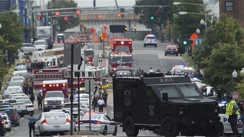 Fusillade sur le site de la Navy Yard à Washington