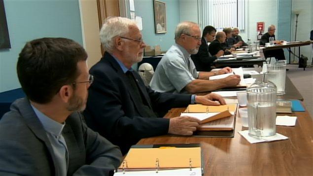 L'Assemblée des évêques catholiques du Québec en réunion plénière d'automne au sanctuaire Notre-Dame-du-Cap, à Trois-Rivières.