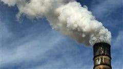 Cheminée polluante