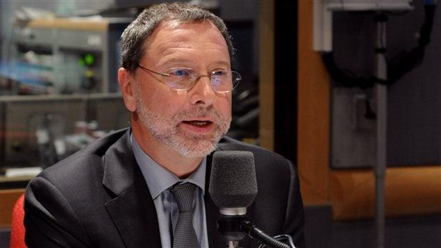 Yves-Thomas Dorval, président du Conseil du patronat du Québec