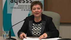 Diane Lavallée, directrice générale de l'Association québécoise d'établissements de santé et de services sociaux (AQESSS)