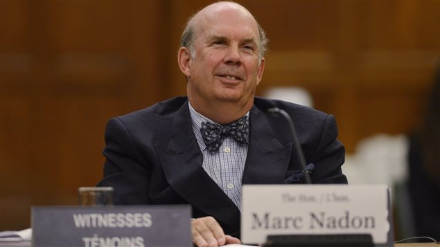 Le juge Marc Nadon comparaît le 2 octobre devant un comité parlementaire à Ottawa concernant sa candidature à la Cour suprême.