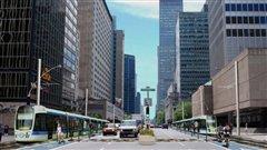 Le projet de tramway de Projet Montréal
