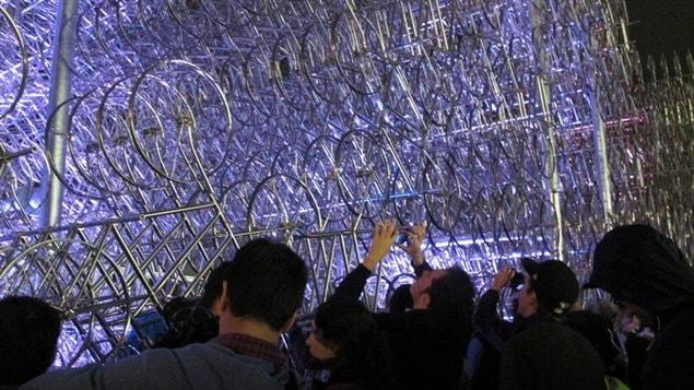 «Forever Bicycle» de Ai Weiwei