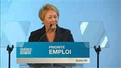 Pauline Marois, première ministre du Québec