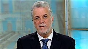 Philippe Couillard en entrevue à l'émission 24/60