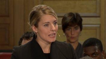 Mélanie Joly, chef du Vrai changement pour Montréal