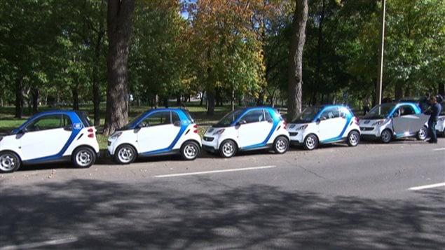 Des voitures Car2Go