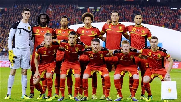 Équipe nationale de la Belgique