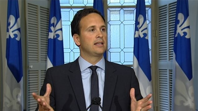Le ministre délégué aux Affaires intergouvernementales canadiennes, à la Francophonie canadienne et à la Gouvernance souverainiste