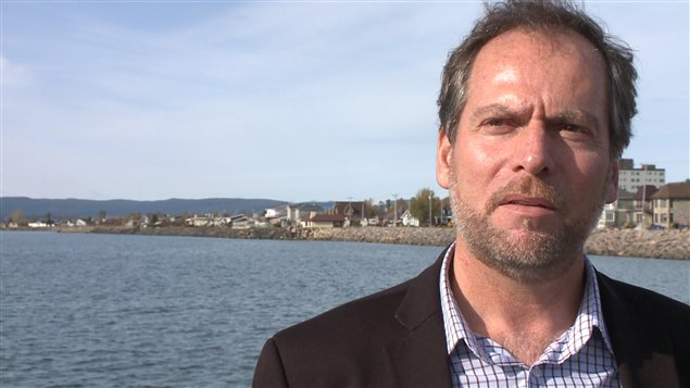 Le candidat à la mairie de Sept-Îles, Réjean Porlier