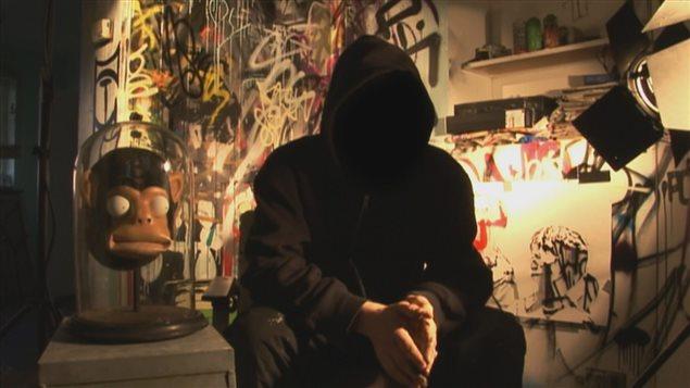 Le graffiteur Banksy