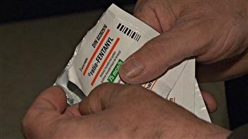 Le fentanyl est prescrit sous forme de timbre transdermique à ceux qui souffrent d'un cancer ou de douleurs très intenses (archives).