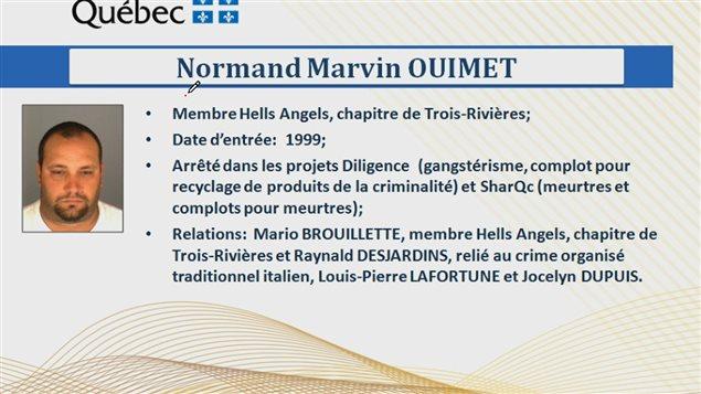 Fiche de Normand Casper Ouimet