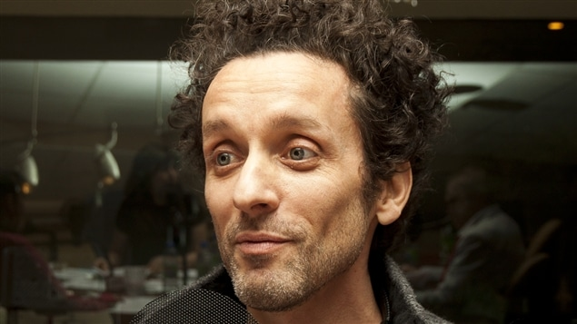 L'humoriste André Sauvé.