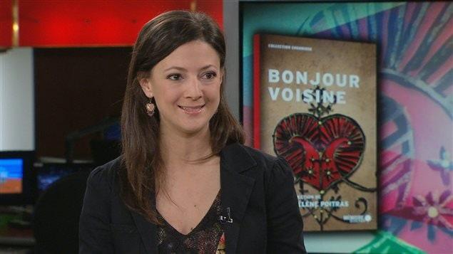 Entrevue avec Marie Hélène Poitras à RDI Matin week-end du 2 novembre 2013
