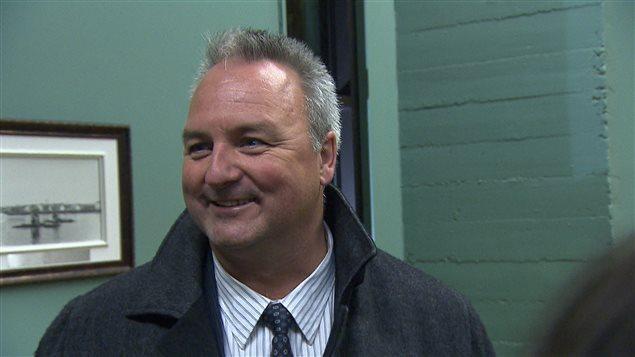 Jérôme Landry est élu maire de Matane