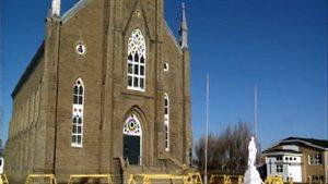 L'église de Bas-Caraquet