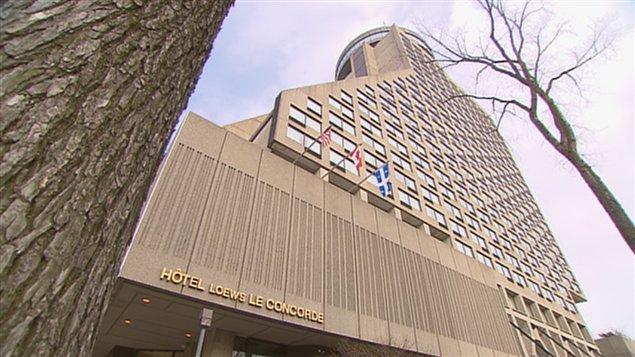 L'hôtel Loews Le Concorde fermerait ses portes en février.