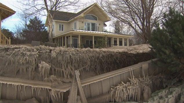 Les berges du lac Saint-Jean sont touchées par l'érosion