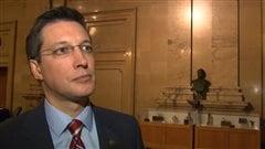 Le conseiller municipal Guillaume Lavoie