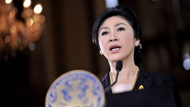 La première ministre thaïlandaise Yingluck Shinawatra