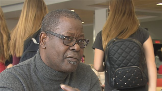 Cheikh Ndiayem, enseignant en sciences politiques au Cégep Garneau