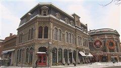 Le projet du Théâtre Le Diamant doit être construit dans l'immeuble du YMCA à la Place d'Youville.