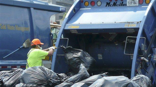 Collecte des ordures à Toronto
